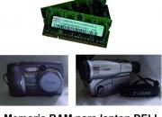 Vendo Camara de Videos, Fotos y Memoria para Computadoras