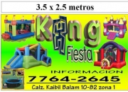 alquiler de saltarines, Huehuetenango, Quetzaltenango, Totonicapan y Quiché