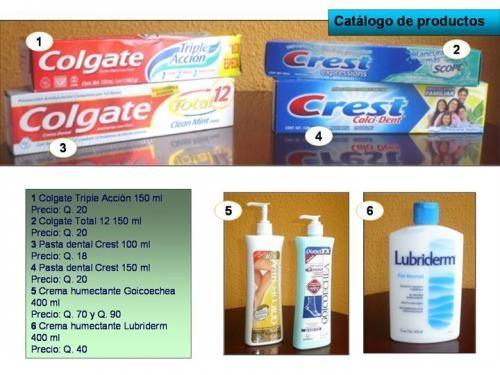 Artículos para el hogar de primera necesidad (marcas reconocidas)