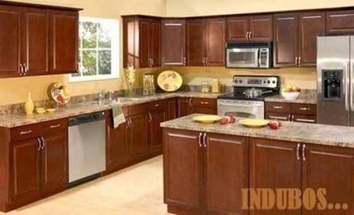 De madera maciza muebles de cocina de madera muebles de for Estilos de gabinetes de cocina