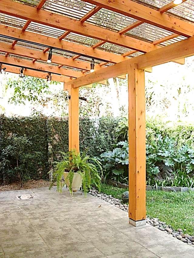 Fotos de oferta en pergolas madera car interior design - Pergolas de madera fotos ...