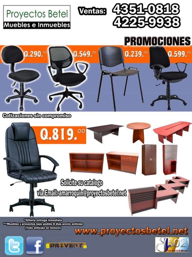 Muebles de una oficina hd 1080p 4k foto for Precios de sillas para oficina
