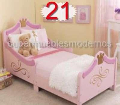 Fotos de cama carro ni o o ni as en madera infantil juegos for Cama infantil nina