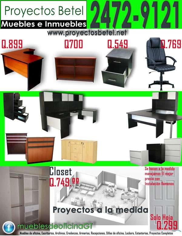 Muebles de oficina en xela 20170813153817 for Precios de muebles para oficina