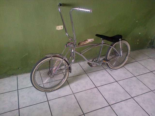 Vendo bicicleta californiana low ryder totalmente cromada