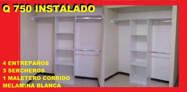Muebles closet guatemala for Interior closets modernos
