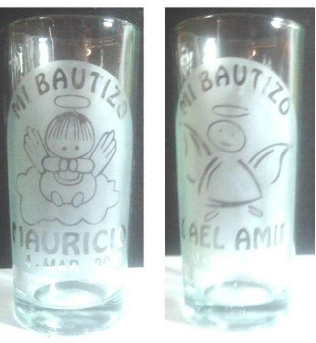 Recuerdos en vasos y copas copas grabadas grabados en for Vasos copas vidrio