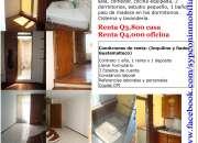 Casa tipo apartamento zona 1 para vivienda u oficina