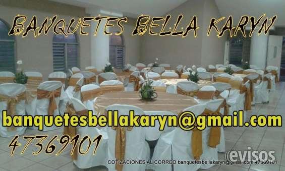 Banquetes bella karyn alquifiestas alquiler de mobiliario cartieres toldos