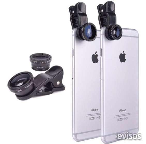 Vendo kit lentes para cámara