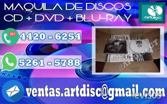 Maquila de discos, SOMOS PROFESIONALES!