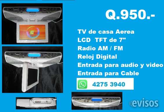 "Tv aerea de 7"" con radio"