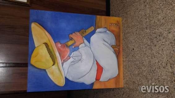 Se venden bonitos cuadros pintados al oleo