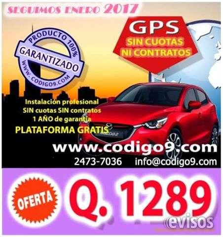 Gps vehícular/autos, motos, otros -promoción 2017-
