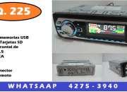 radio nuevo usb sd y auxiliar