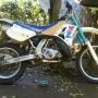 se vende moto yamaha  yz 250 2t mod. 92