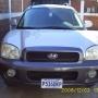 vendo bonita camioneta santa fe 2003