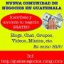 Negocios en Guatemala (Comunidad) Afiliate Gratis!! Guatenegocios.