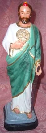 Venta de todo tipo de imágenes religiosas en yeso-pasta, resina y fibra de vidrio.