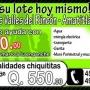 Lotes y Casas - Amatitlán (FOGUAVI te ayuda con Q.20,000.00 para tu enganche)