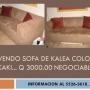 Vendo juego de Dormitorio Queen con sofa de Kalea y colchon Blu Comfort Olimpia