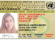 Licencia internacional de conducir