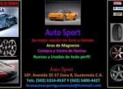 Venta de aros y llantas - guatemala - auto sport