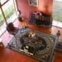 Renta casa Santiago Sacatepequez, amplia área jardinizada