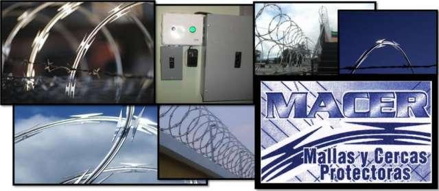 Seguridad - instalación razor ribbon guatemala, macer