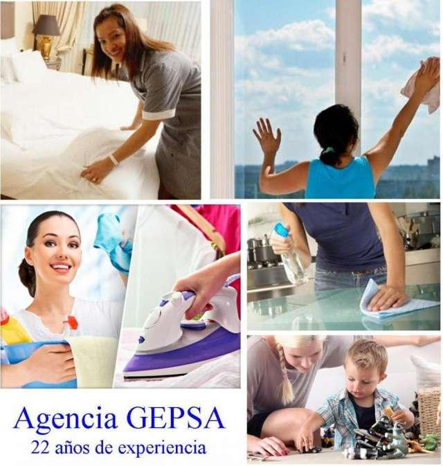 Servicio personalizado de selección de personal doméstico, agencia gepsa