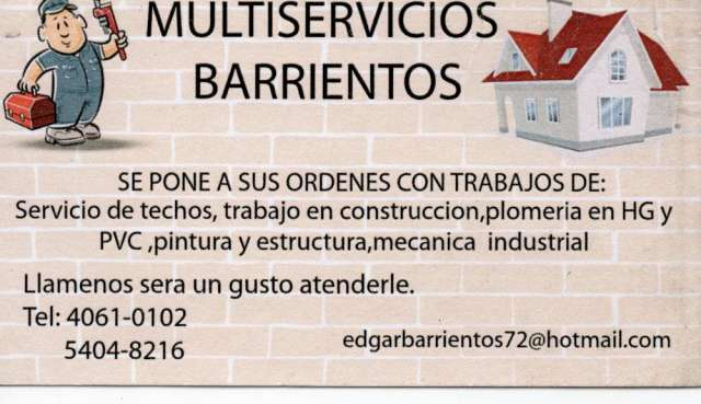 Multiservicios barrientos