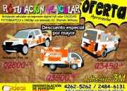 Mantas, adhesivos, rotulacion vehicular, y mas