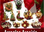 Arreglos, regalos de flores o frutas para el dia de la madre