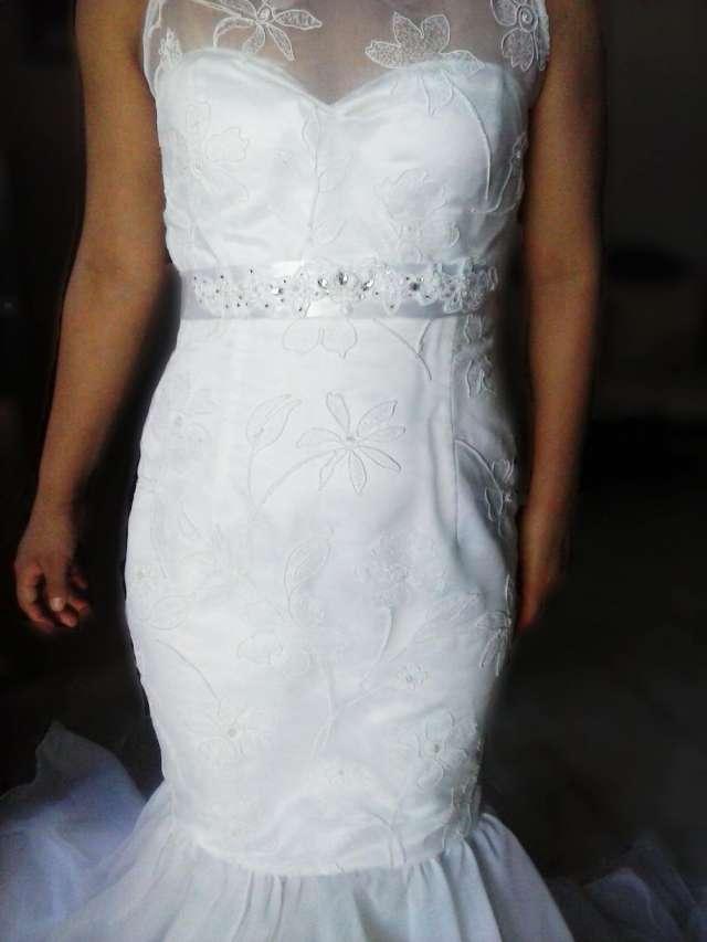 Vestido de novia estilo sirena