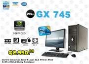 Dell Optiplex 745 Core2Duo Con 4Gb RAM / 1Gb Video Nvidia / 500Gb Disco Duro