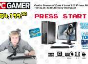Pc GAMER HP 8100Pro Core I5 Con 8Gb RAM Disco Duro 1Tera 10 Visa Cuotas Q419