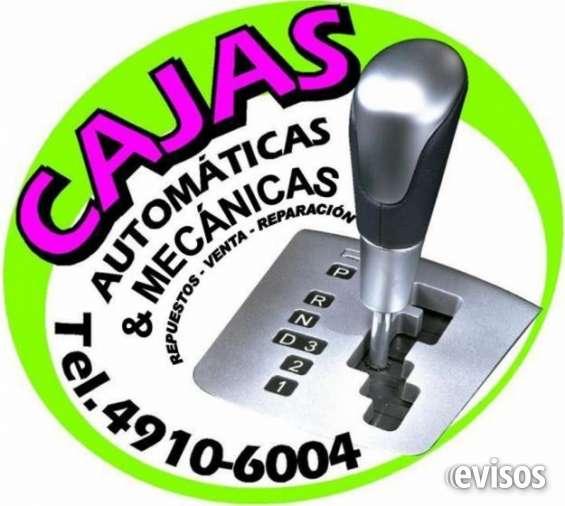 Ahorre!!! ahorre!!! reparacion de cajas automaticas y cajas mecanicas!!!