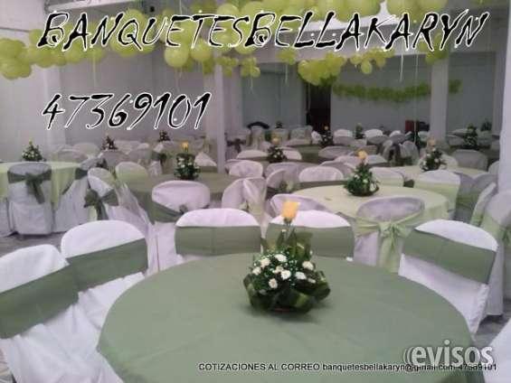Fotos de Banquetes bella karyn alquiler de mobiliario toldos servifiestas multiservicios  2