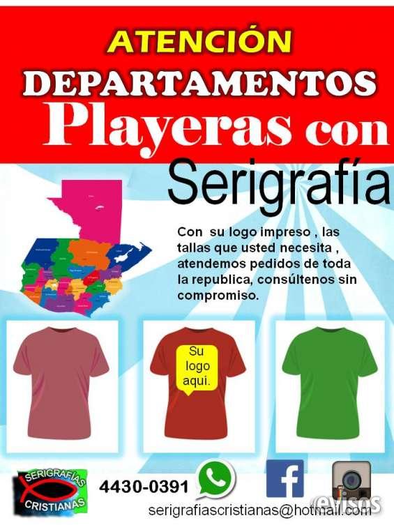 Playeras con serigrafia en Ciudad de Guatemala - Otros Servicios ... 024d5b4a94773