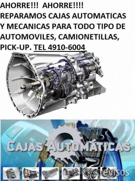 Cajas automaticas y cajas mecanicas