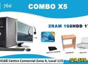 Potente Combo x5 Para CAFE INTERNET Q9,590.00