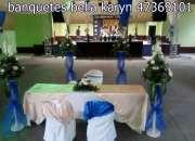 banquetes economicos guatemala banquetes para bodas catering alquifiestas toldos menu Q 35