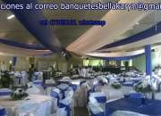 Alquiler de mobiliario banquete adomicilio guatemala alquifiestas servifiestas catering