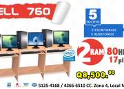 Combos Para CAFE INTERNET x5 COMPUTADORAS Desde Q8,499.00