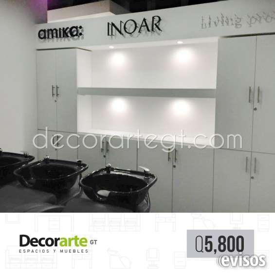 Estación de back wash --- #decorarte_gt
