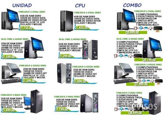Computadoras dell y hp // colegios, escuelas e institutos