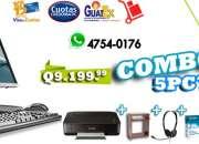 Computadoras de Marca // Equipo Garantizado / Unidades y Combos