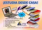 ¡estudia desde casa!