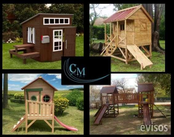 Casitas de juegos en madera para exterior o interior / juegos en madera / casas para exte