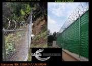 Malla Ciclónica Galvanizada o en PVC en Guatemala